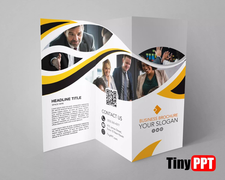 Google Slides Tri Fold Brochure Template