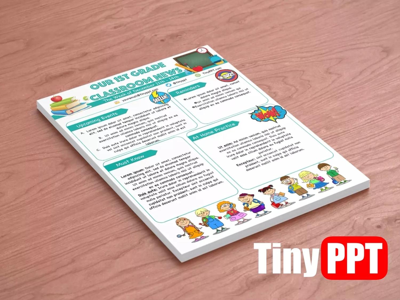 Editable Newsletter Templates For Education