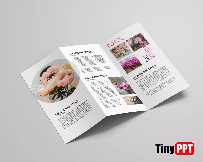Google Docs Brochure Template Tri Fold