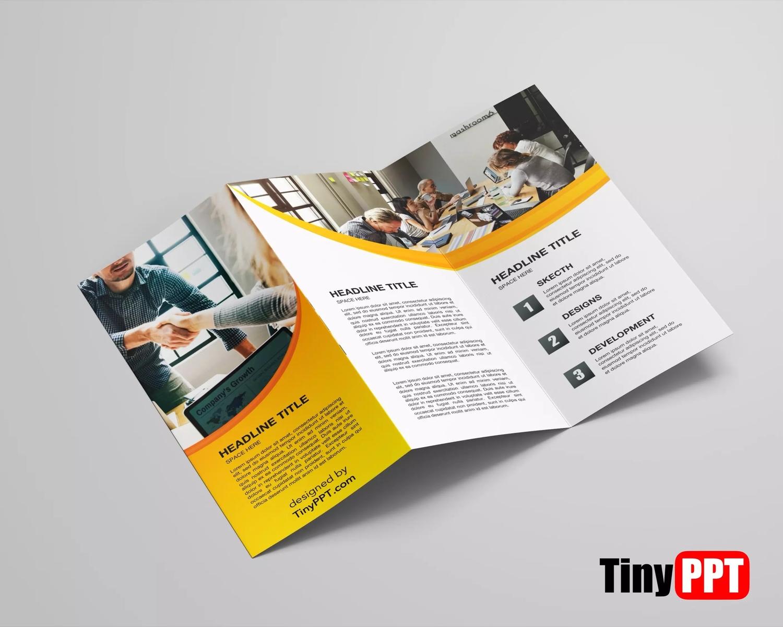 Foldable Brochure Template Google Docs