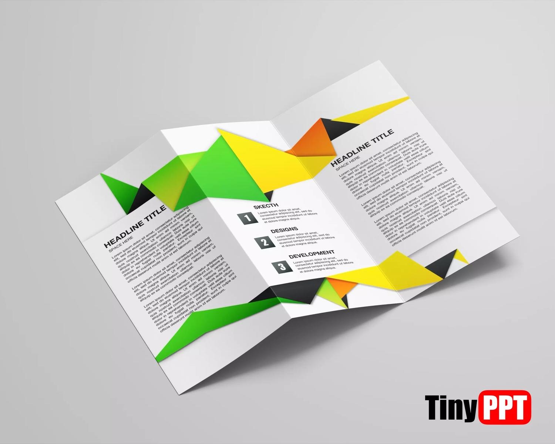 Tri Fold Brochure Template Powerpoint